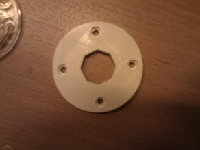 Restrictor plate for arcade joystick