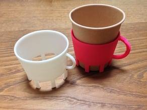 7oz paper cup holder