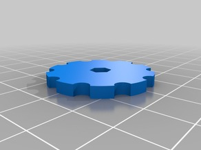 Anet a8 BIG bed leveling knob