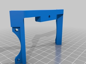 Dual 40mm fan holder for Prusa i3 Rework