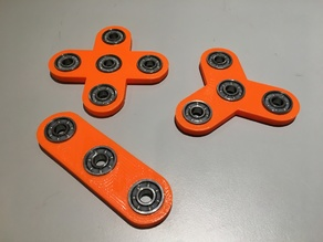 Customizable Fidget Spinner