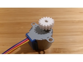 Gear for 28BYJ-48 stepper motor