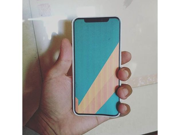 timeless design ec1f2 6d884 iPhone X Paper DIY by Maker181 - Thingiverse