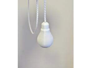 Lightbulb Light Pull