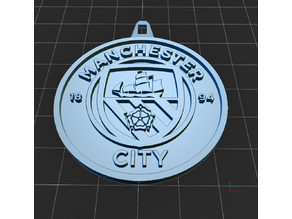 MANCHESTER CITY Keyring