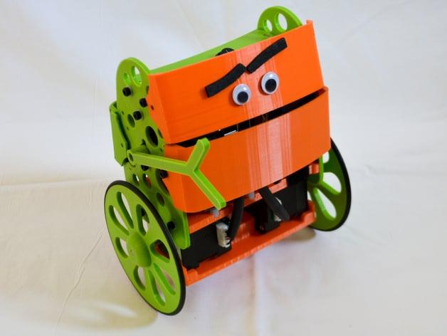 B-robot EVO (the evolved Self balancing robot) by jjrobots