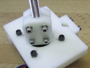 Yet Another Prusa Mendel Z Coupling