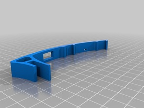 Prusa i3 LED Strip Light Bar with slot for a switch