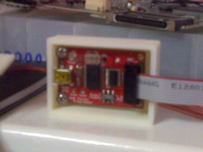 AVR pocket programmer case