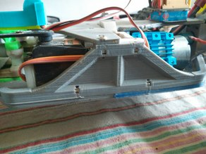 OpenRC truggy shiled with locker