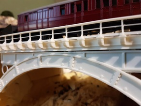 OO/HO Early Railway Cast Iron Bridge