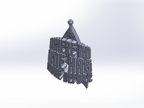 Where no one has gone before - Star Trek Ornament