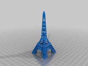 Model that looks a bit like a famous tower