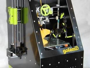 golemD - outside the box 3D printer