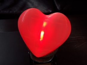 LED Heart Lamp with Stand