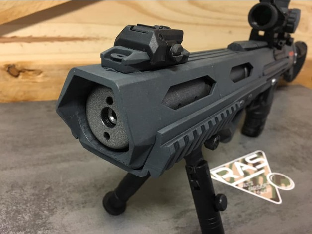Mk23 Airsoft pistol carabine kit by Scuall - Thingiverse