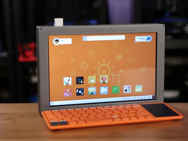 10in Raspberry Pi 2 Tablet By Adafruit Thingiverse