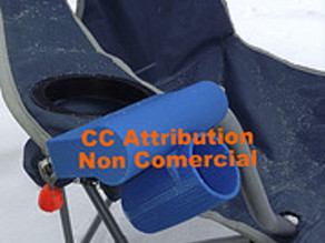 camping chair right rod holder