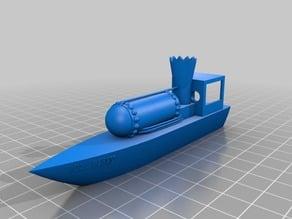 Steam boat  (OLD BESSY)