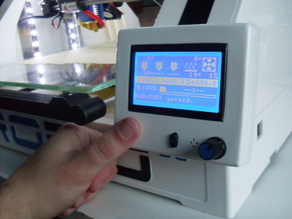 Robo3D RepRap display with capacitive touch