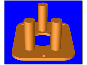 Triangular Coil Wrapping Jig