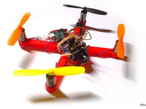 Oskie Micro Quad Frame (8.5mm Brushed motors)