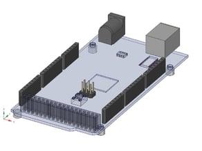 Arduino MEGA CAD File for DesignSpark Mechanical