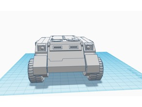Rhino Wheeled Conversion Kit, Warhammer 40K APC
