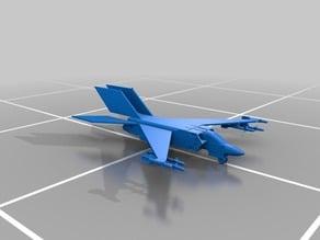 TRI W wing jet