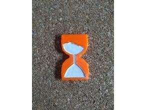 Hourglass extruder visualizer