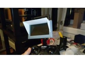 "Spektrum 4.3"" FPV LCD sun shade"