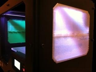 Printable Replicator 2 Side Panel