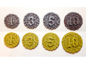 Ancient Coins for Boardgames