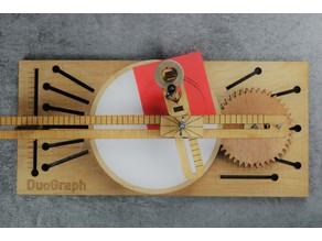 Laser Cut DuoGraph Drawing Machine