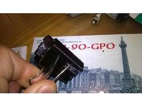 muzzle for clip stops glass - mordacchia per molletta ferma vetro