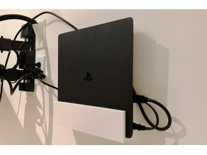 PS4 Slim Wall Mount