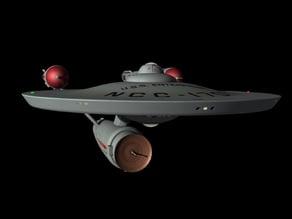 Star Trek - The Original Series Pilot USS Enterprise NCC-1701
