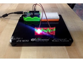 3DX Project 1 - OSC LED Blinker