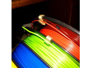 Filament multi-reel clips for 1.75mm