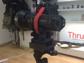 BeamShots tripod flashlight adapter