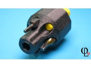 Pocket-Screwdriver for bits «Colt Style»