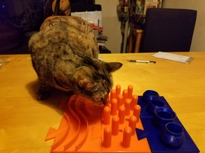 Cat Feeding Platform