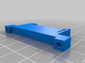 reprap PCB DIN rail mounting clip