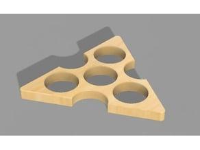 tri-angle fidget hand spinner