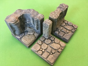 Cavern Edge Connector Tile (Openforge 2.0 compatible)