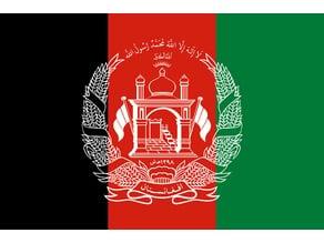 Afganistan flag