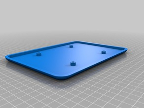 Large Blank Plate