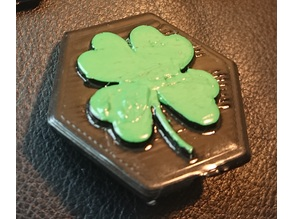 Four Leaf Clover Pin | St Patrick's Day Clover Pin