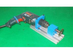 068-Homemade Mini Saw Table Drill DIY Circular Drills DC Motor Chuck Spindle Rotary Hand Tools Wood