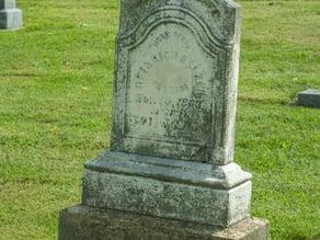 Salzer Grave Monument